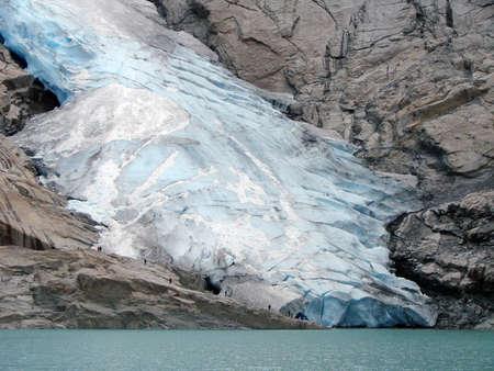 Glacier Briksdal, Norway Фото со стока - 101725190