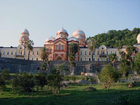 New Afon monastery, Abkhazia Фото со стока - 101725312