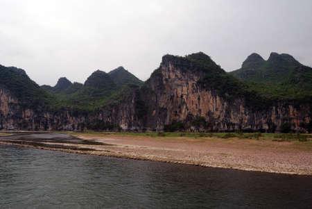Li River, Southern China Фото со стока - 103762338