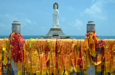 Guanyin statue, Hainan province, China Фото со стока - 104232710