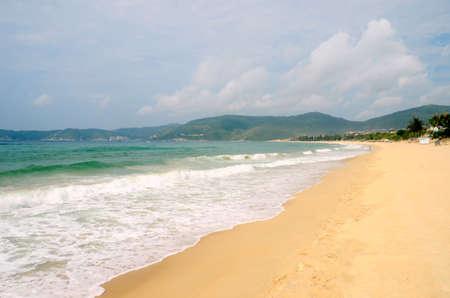 South China Sea Coast, Bay Yalong, Hainan Island China, may 2011
