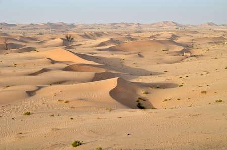 The dunes in the desert, Dubai, United Arab Emirates Фото со стока - 106235145