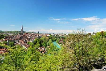 Townscape of Berne, Switzerland.