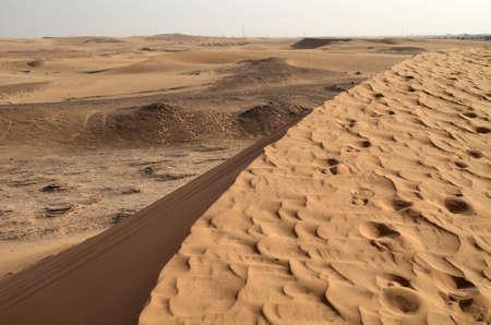 The dunes in the desert, Dubai, United Arab Emirates Фото со стока