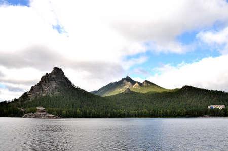Lake Borovoe, State National Natural Park Фото со стока - 109135416