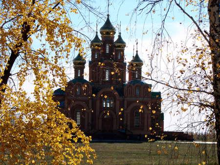 Chapel in Achair monastery, Omsk region, Siberia, Russia Фото со стока - 109593298