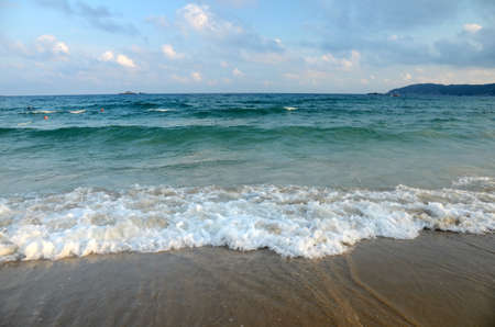 South China Sea Beach, Hainan; Sanya, Yalong Bay