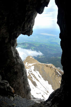 Switzerland Alps, view from top Pilatus Фото со стока - 109432834