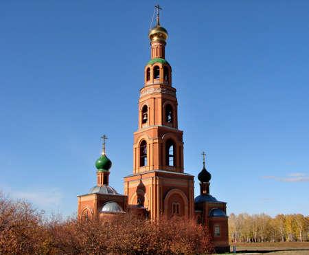 Chapel in Achair monastery, Omsk region, Siberia, Russia Фото со стока - 109432831