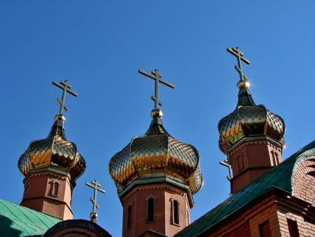 Chapel in Achair monastery, Omsk region, Siberia, Russia Фото со стока - 109432840