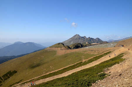 View Ridge Aibga, Sochi, Russia Редакционное