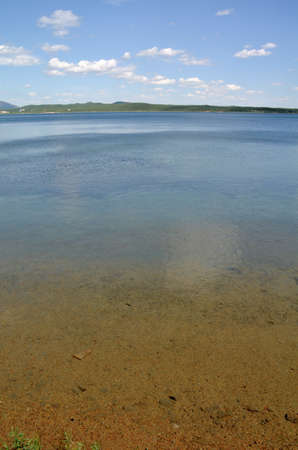 Lake Shchuchye, State National Natural Park Burabai, Kazakhstan