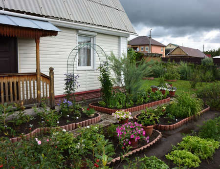 Country House, Omsk region, Siberia, Russia