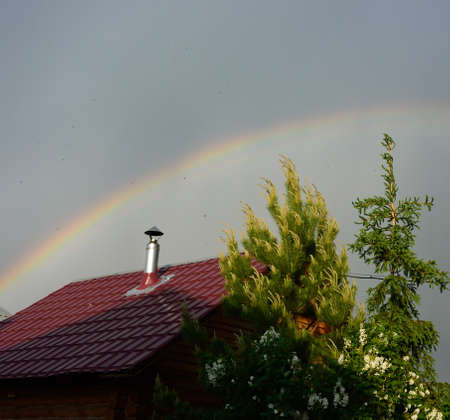 Rainbow, Omsk region, Russia