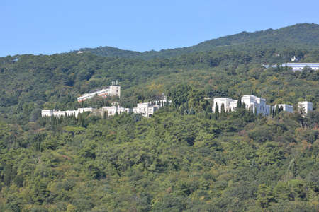 View of the outskirts of Yalta