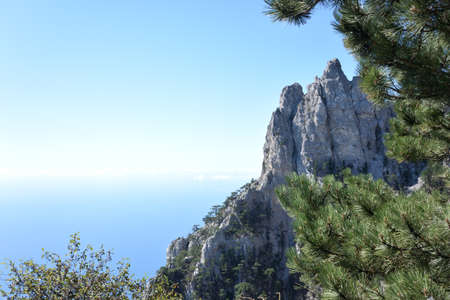 View of Mount Ai-Petri in the vicinity of Yalta