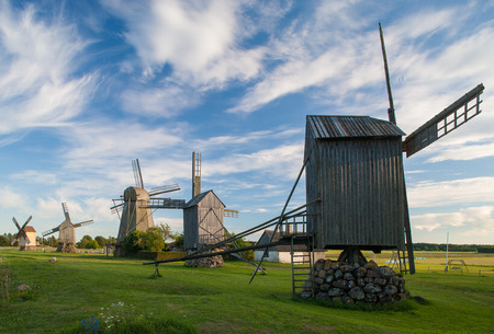 The old mill. Saaremaa.