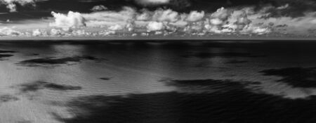 Beautiful view of the sea. Cloudy day. Banco de Imagens - 129015130