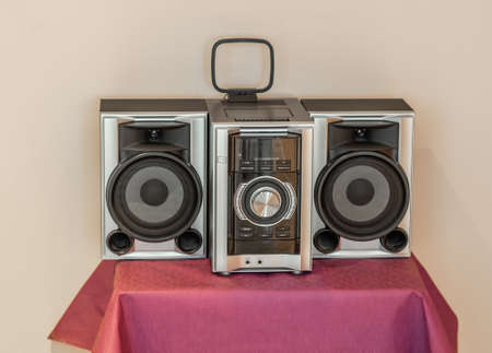 Modern music system.