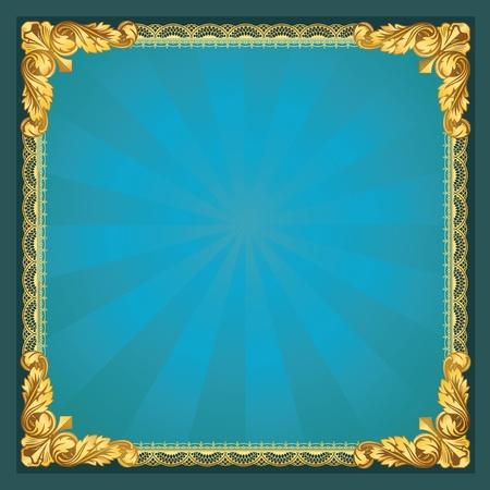 bilderrahmen gold: Old-Fasioned Golden Frame