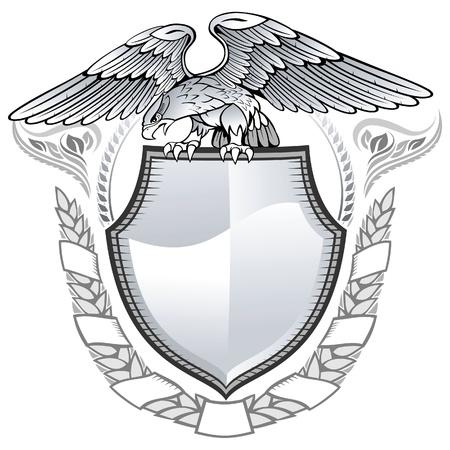 heraldic eagle: Winged Eagle Insignia