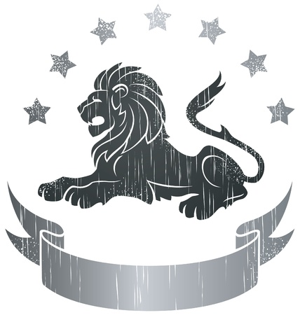 Lion Insignia  Vector