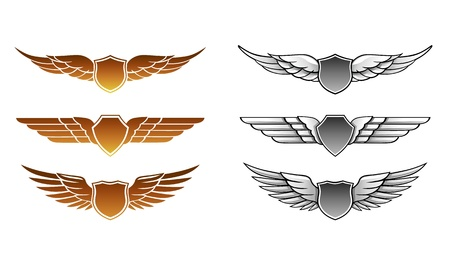 tattoo wings: Winged Awards Set
