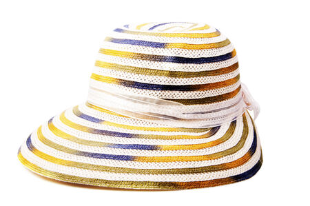 sun protection: Sun protection object. Beach hat