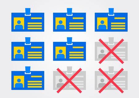 dismissal: Discharge vector illustration. Dismissal release creative concept. Illustration
