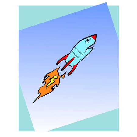 booster: Missile en vol