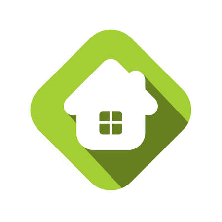 icons and concepts in flat trendy style - houses illustrations and banners for real estate agencies