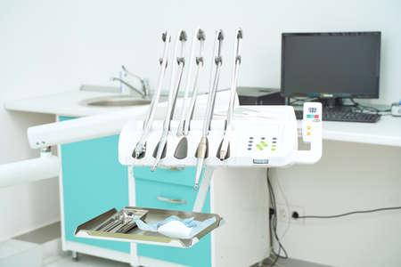 Interior of a modern dental office