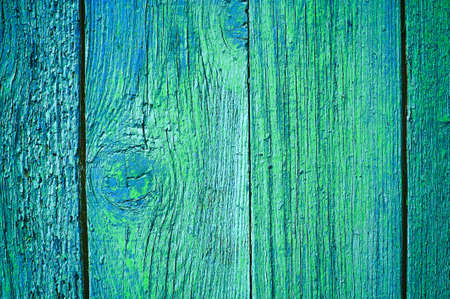 Blue Painted Wood Planks as Background or Texture, Natural Pattern. Фото со стока - 139787808