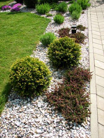 Garden Stone-Pfad  Standard-Bild