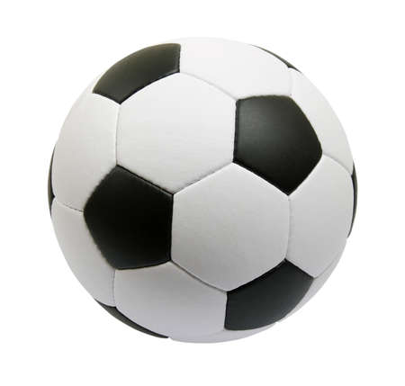 ballon de soccer isolé sur fond blanc