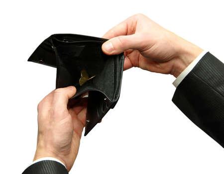 empty wallet: Empty wallet