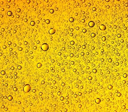 water drops on beer photo