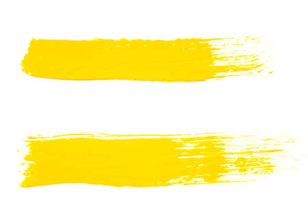 paint brushes: paint brush texture isolated on white