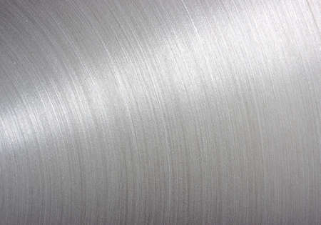stainless steel: background brushed aluminum metallic plate - Metal texture  Stock Photo