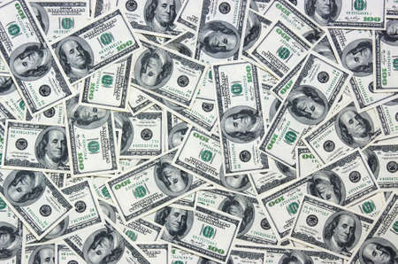 us dollars: heap of dollars, money background