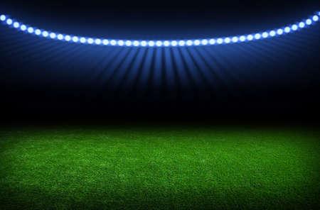stadium: the soccer stadium with the bright lights