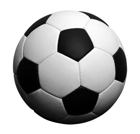 Black And White Soccer Ball Photography