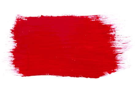 kwast textuur geïsoleerd op wit Stockfoto