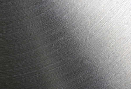 brushed steel: Brushed steel plate texture with reflections