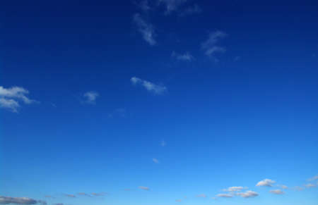 heaven light: background of blue sky and white clouds