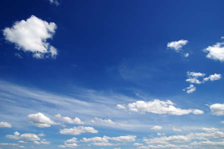 cloud background: background of blue sky and white clouds