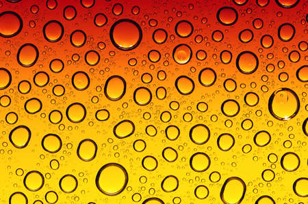 water drops on beer background Banque d'images