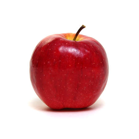 Fresh red apple isolated on white. Banque d'images - 120345041