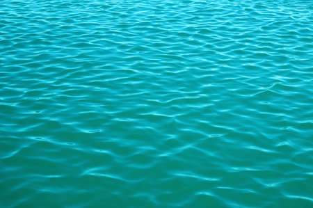 Blue sea surface with waves . Water background. Banque d'images - 120345204