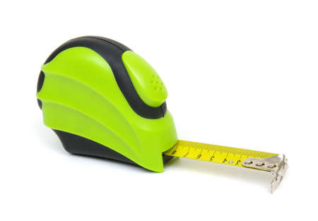 tape measure isolated on white background 写真素材